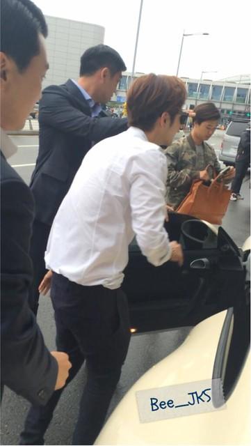 [Pics-2] JKS returned from Beijing to Seoul_20140427 14031959141_1722cb9bb5_z