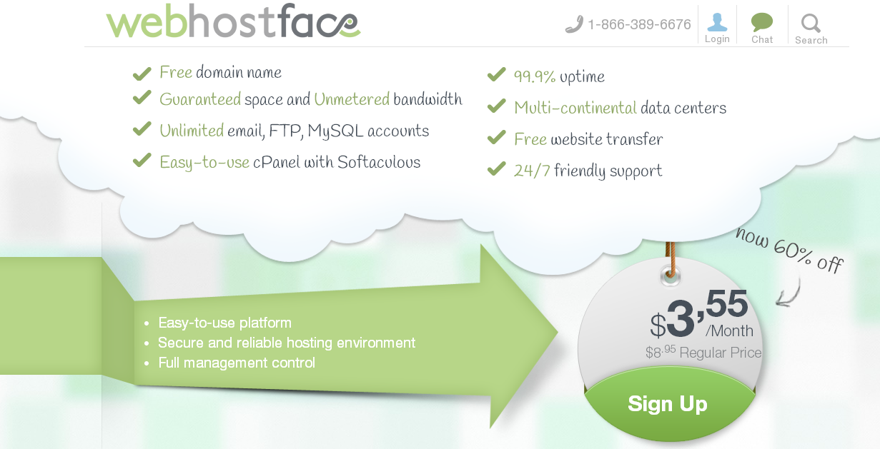 WebHostFace Web Hosting, VPS Hosting, Dedicated Hosting