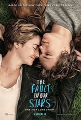 The Fault in Our Stars movie poster.