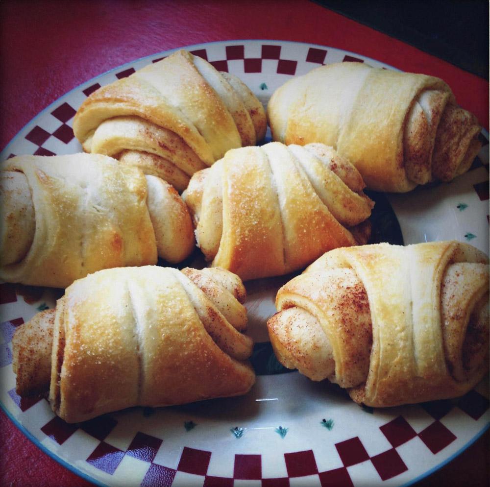 Kamome Diner croissant