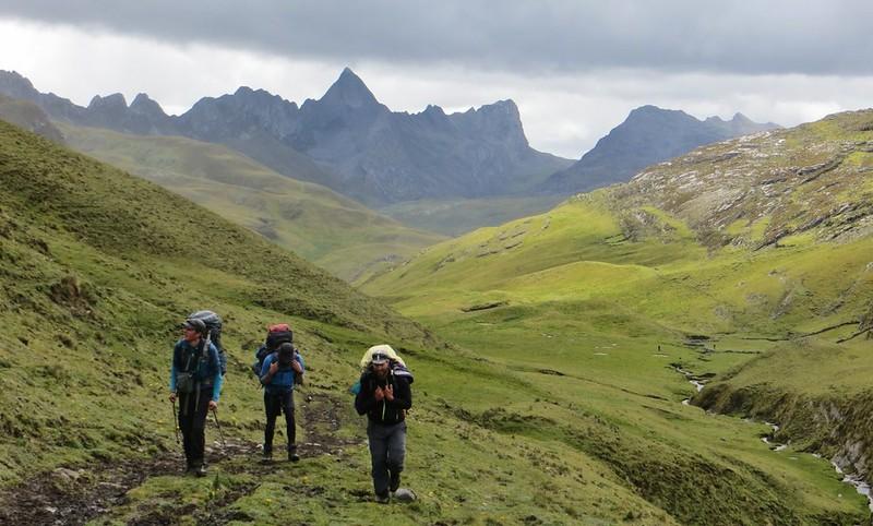 The climb to  Carhuac.