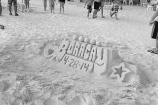 Boracay - Sand castle