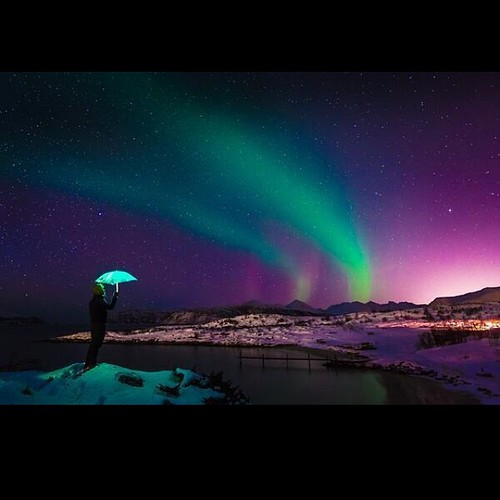 The Northern Lights... I vow to see this in person before it's all said and done with.. This is beautiful..