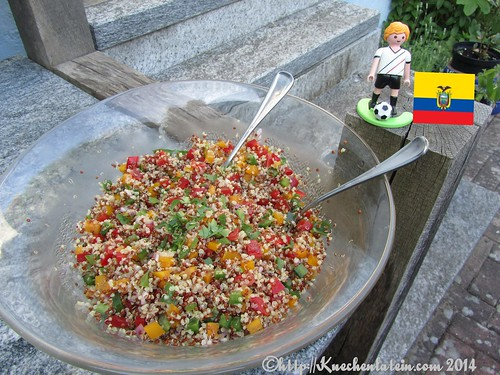 ©Quinoa-Salat Ecuador