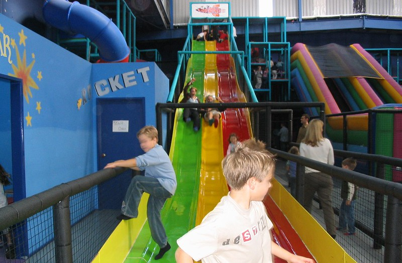 Indoor playground, May 2004