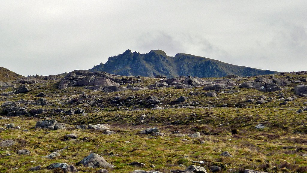 Pinnacles of Sgurr Dubh