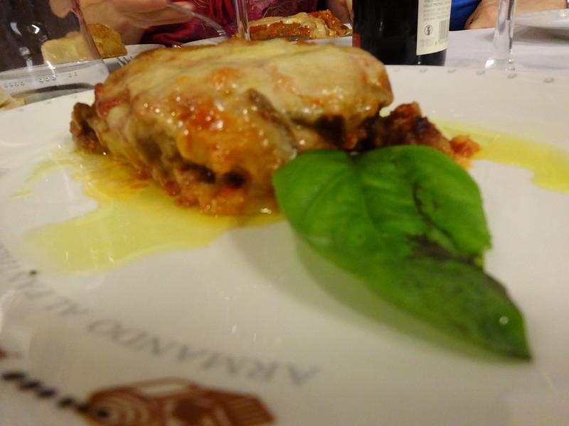 Eggplant Parm, Armando al Pantheon