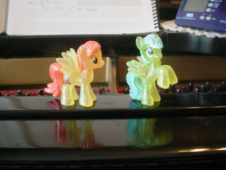 two new ponies