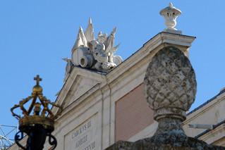 Detalles del Palacio Real de Aranjuez