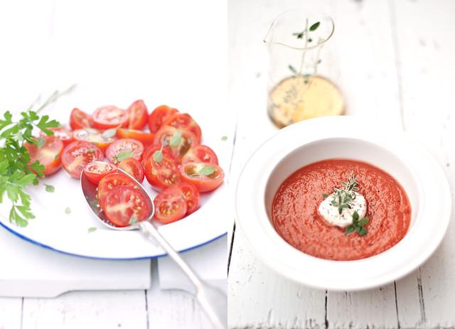 duo pomodorini e zuppa