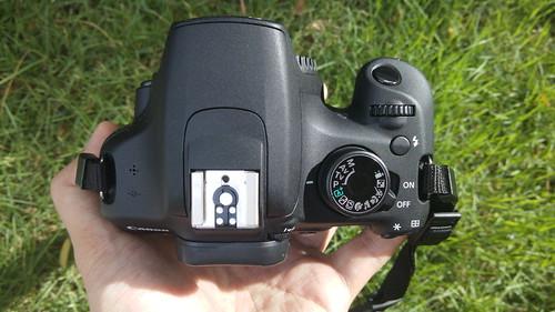 Canon EOS1200D ด้านบน