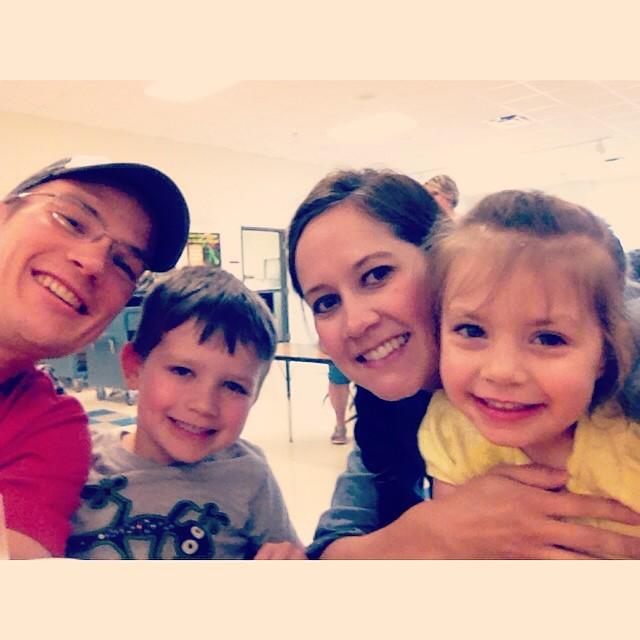 Lunch with Evan! #lastweekofschool #family #100happydays #day19