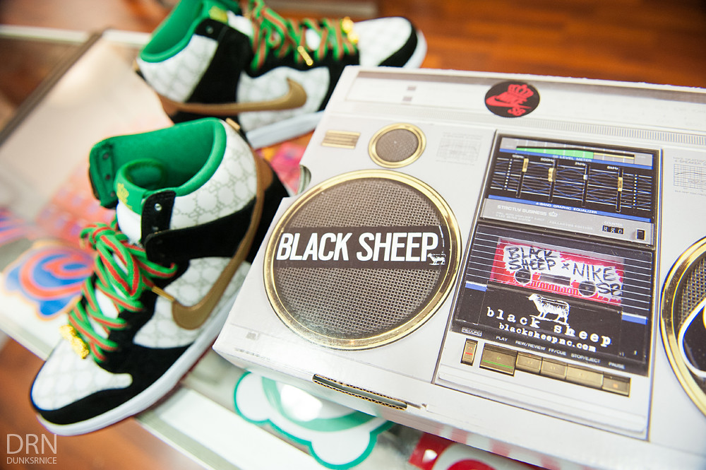 Black Sheep x Fully Laced SB's.