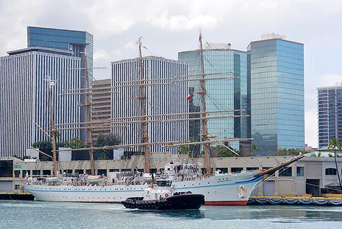 Kaiwo Maru at Pier 10