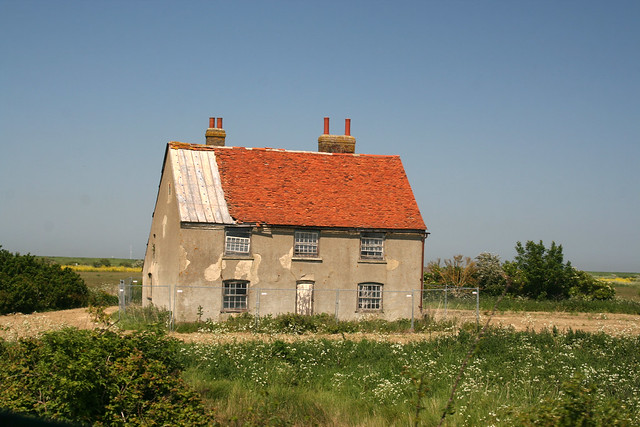 Oldest brick house on Foulness Island