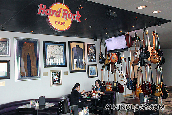 There's a Hard Rock Cafe at T2