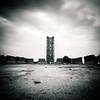 The Minaret ruins of El Mansourah mosque, Tlemcen, Algeria