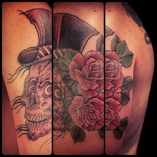Skull Tattoo by Paco