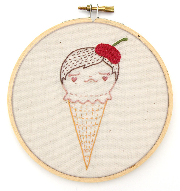 Ice Cream, You Scream... for Embroidery!