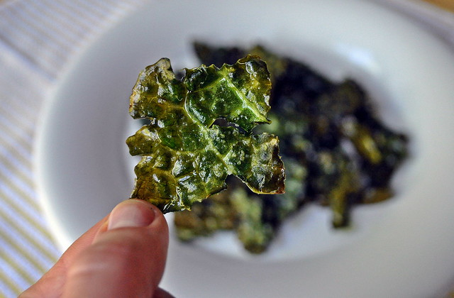 salt vinegar kale chips