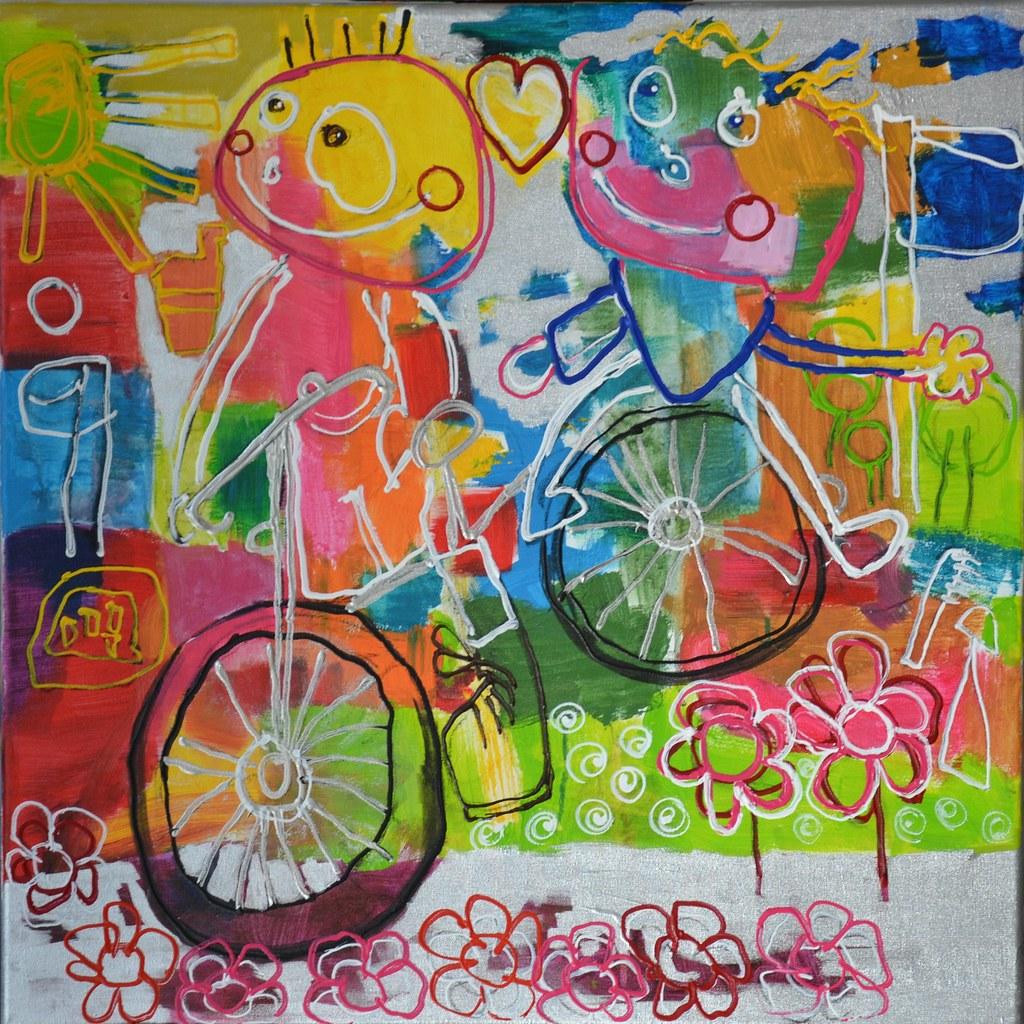 Afbeeldingsresultaat voor kunstwerk kinderen