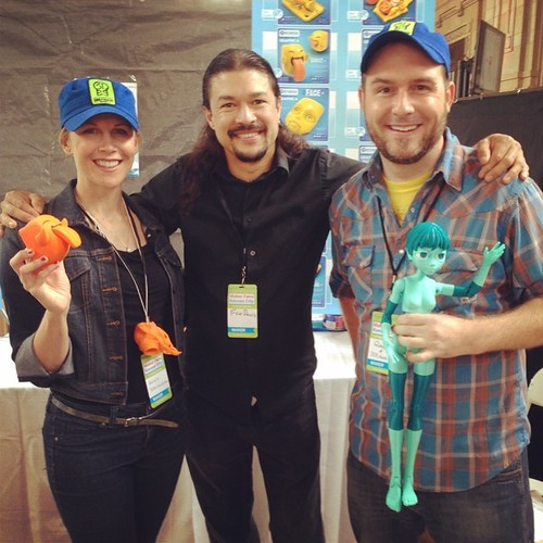 Motion Picture Effects Master @FonHDavis visited the visited the 3DK booth! @FonCoCreative