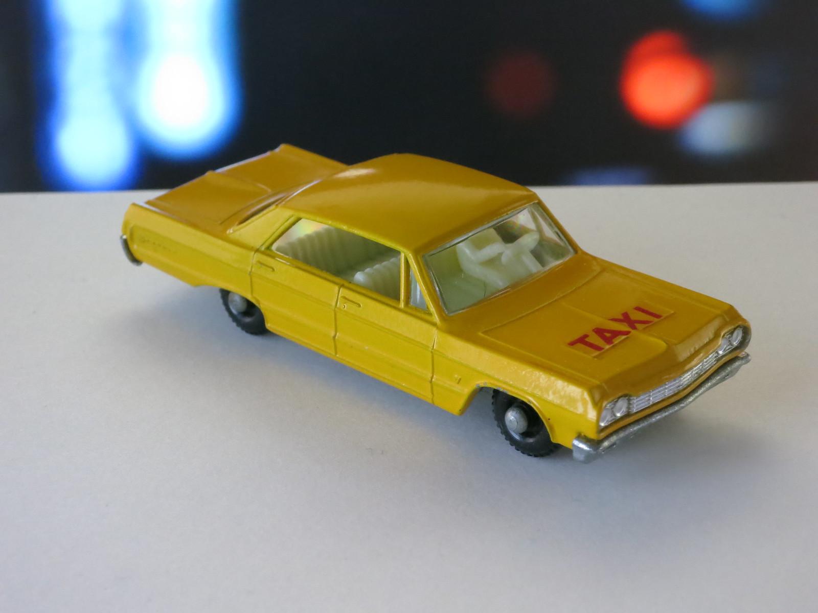 Matchbox Lesney 20c Chevrolet Impala Taxi