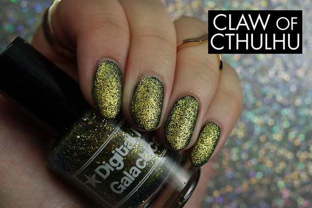 Digital Nails Galactica Swatch (with OPI Matte Top Coat)