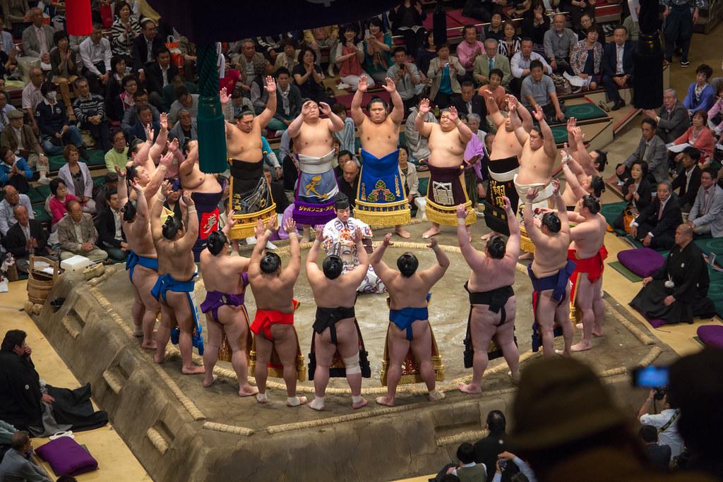 Tokyo Sumo Wrestling Tournament - Day 11