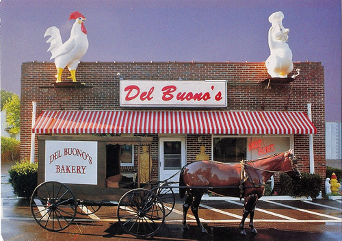 Del Buono's Bakery Postcard - Haddon Heights NJ 1