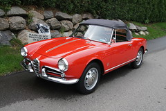 automobile, alfa romeo, vehicle, alfa romeo giulietta, antique car, classic car, land vehicle, convertible, sports car,