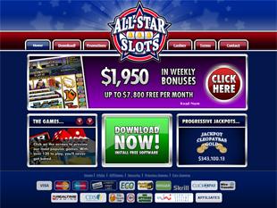 All Star Slots Casino Home