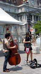 Musicians - Place Jacques-Cartier
