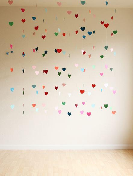 hacer corazones colgantes
