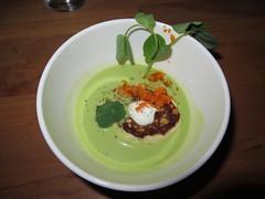 Spring Pea Soup - Yusho Chicago