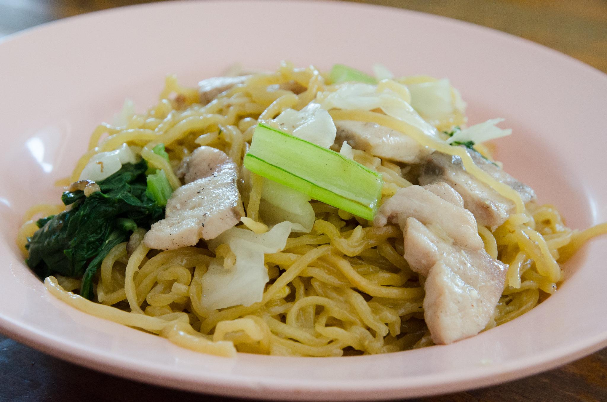 Tuaran Mee at Lok Kyun Restaurant, Tuaran, Sabah
