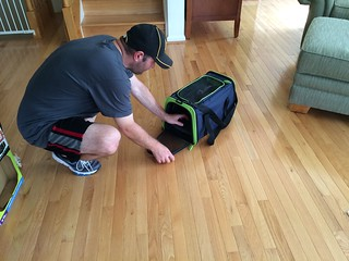 Petmate's See and Extend Pet Carrier product review
