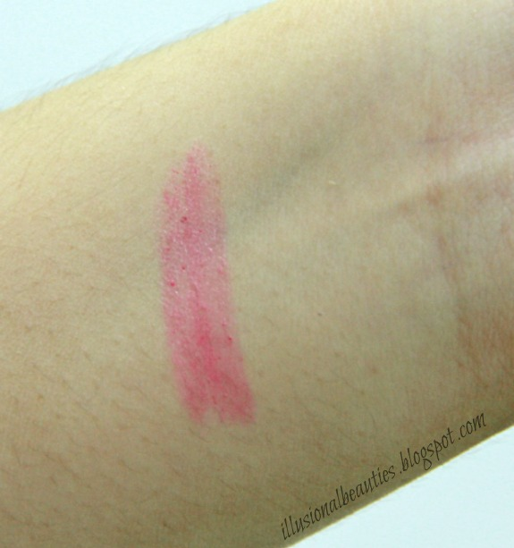 Omorose Lip Dressing Swatch