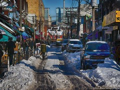 Kensington Market in Winter 2