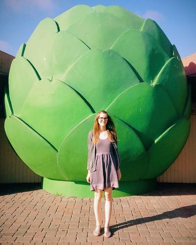 Giant Artichoke in Castroville, CA.