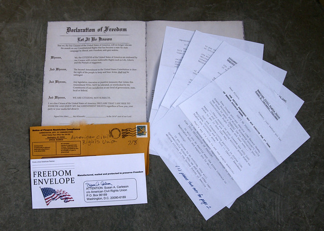 American Civil Rights Union junk mail