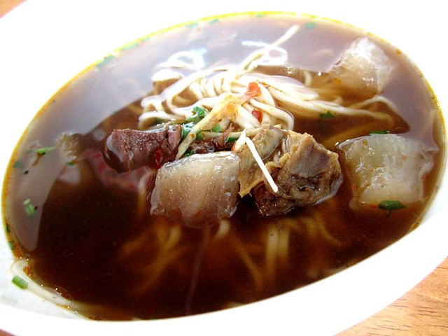 Beef offal noodles