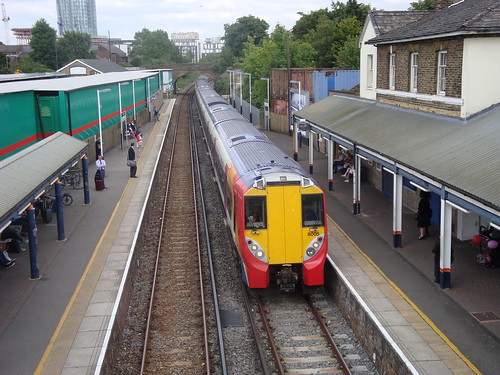 South West Trains 458005, Brentford, 11/06/14