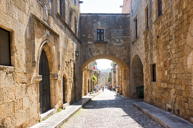 Knights' Street - Rhodes