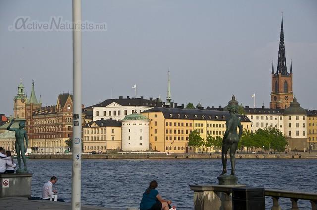 statue 0000 Stockholm, Sweden