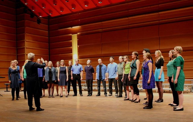 Kor e' tonen på Syng for oss 2014. Foto: Norges Korforbund Hordaland