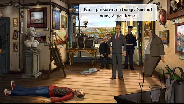 Les Chevaliers de Baphomet : La malédiction du Serpent - Screenshot 1