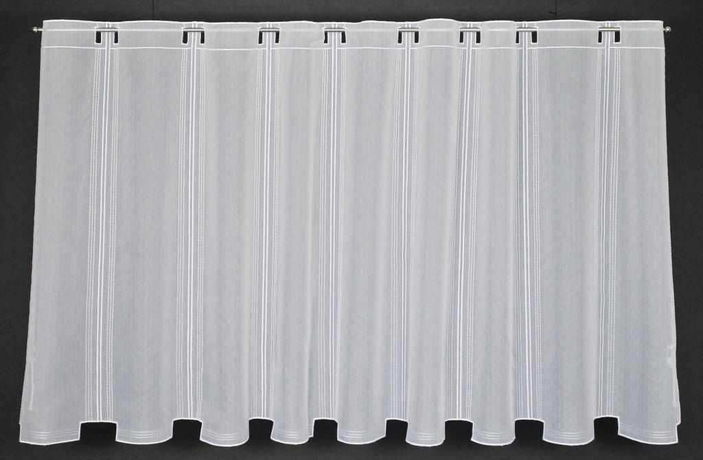 scheibengardine raffrollo bl tterranke breite 14 5 cm farbe wei h he w h ebay. Black Bedroom Furniture Sets. Home Design Ideas