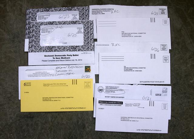 DNC & RNC junk mail