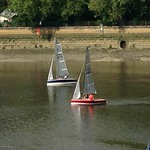 7 June, 2014 - 17:18 - Photo finish after 2 hours sailing!